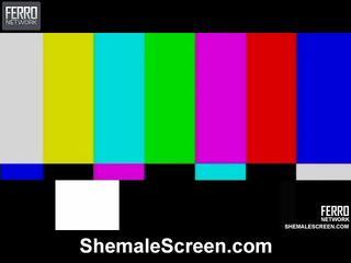 Sıcak siyah göt ekran film starring sharon, monique, agata