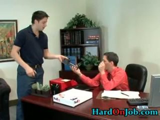 These Boys Are Horny And Hard In The Office 1 By Hardonjob