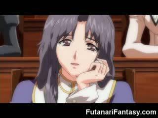 Futanari hentai toon shemale anime manga tranny multene animācija dzimumloceklis loceklis transexual sperma trakas dickgirl hermafrodīts
