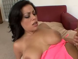 Anal with busty brunette Angelica Raven