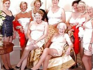 grannies, milfs, oude + young