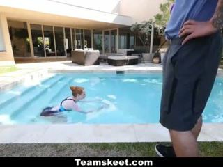 CFNMTeens - Pale Redhead Fucked By The Swimming Coach <span class=duration>- 10 min</span>