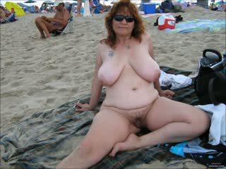 beach, grannies, matures