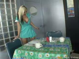 uniform, waitress
