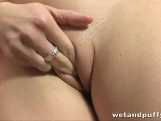 close-up, orgasme, clitoris