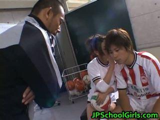 Bonita desnudo asiáticos schoolgirls