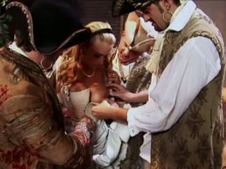 Trina Michaels got double penetrated by pirates