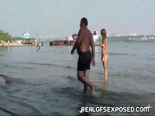 Fishing avec certains nu russe adolescence