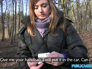 Publicagent sales 여자 has 섹스 에 a 숲