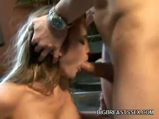big boobs hq, kalidad blowjob hq, puno blonde