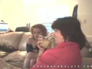Reāls mājas footage no crackhead minēts