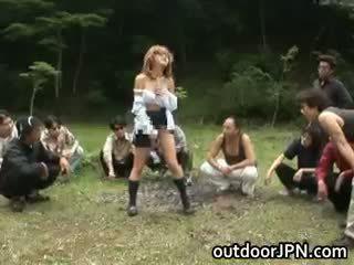 diversão japonês novo, sexo grupal, interracial qualquer