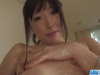 Arisa Nakano Brings A Dildo In The Bath With Her
