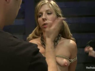 Smut Chastity Lynn Has Clothespinned And Impaled