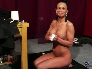 Samanta the na twarz geisha z za the sceny: porno 5d