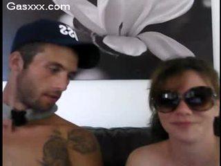 Sexo a três webcam festa