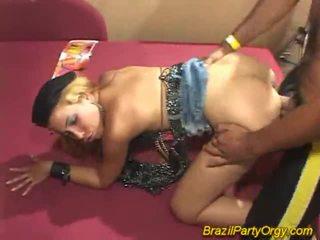Blonda smaba dancer are banged la petrecere