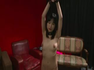 Oriental porn Mistress licking hot sex toy for sexy oriental model