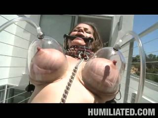 Milf Humiliation: Busty milf humiliated and tortured