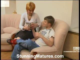 Christina et jerry excellent mère onto film