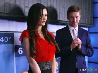 brunette, big boobs, brazzers