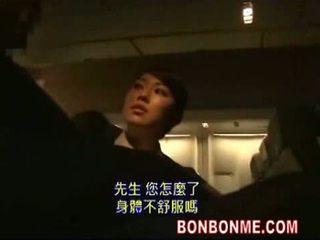 jaapani, blowjob, stewardess