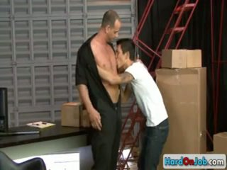 Lad Gets His Amazing Dick Sucked By Hardonjob