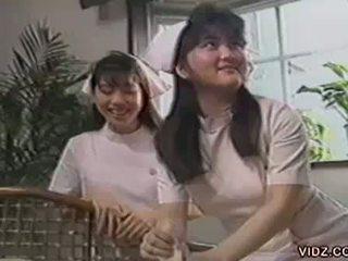 Mega Cute Japanese Nurses Gets N.