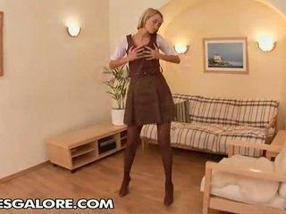 Hi Im Uma, Today Im Gonna Fascinate All Stockings Lovers.