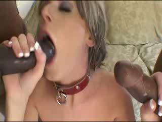 Two черни майната matured момиче brutally