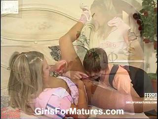 Leonora と nora lezzy ママ インサイド actionion