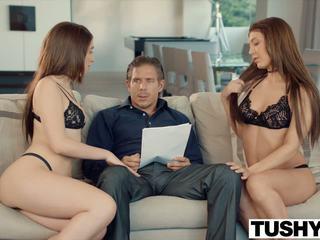 Tushy two jauns meitenes ar milzīgs gaping pakaļu: hd porno 2c