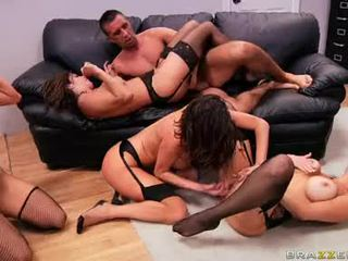 group fuck, melons, big boobs