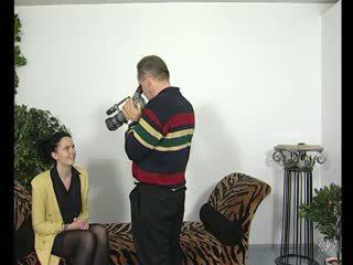 Brunette fucks op film - julia reaves