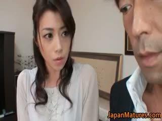 हॉर्नी जपानीस मेच्यूर लड़कियां सकिंग part2