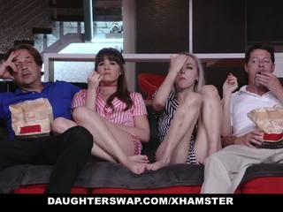 Daughterswap - teens okašľané do jebanie oteckov najlepšie.