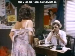 John holmes, candy samples, uschi digard uz vintāža porno filma