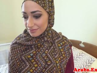 Pounded muslim babe jizzed in mond, gratis porno 89