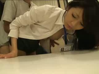 Мой красива японки officemate