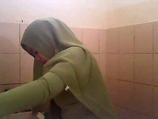Szpiegowanie gagal jilbab hijau