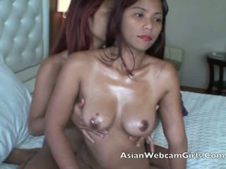 Aziatisch filipinas asianwebcamgirls.com lesbisch olie massage tieten