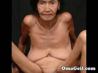 Omageil 큰 수집 늙은 할머니 과 senior 여성