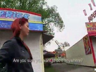 Sophia wild poesje banged bij de carnival