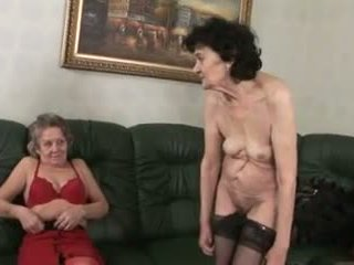 lésbicas, grannies, amadurece