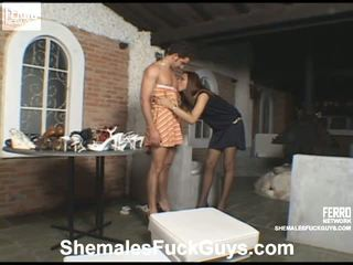 Angel Felix Shemale And Pussyboy On Video