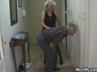 mammor och tonåringar, perverterad, morfar