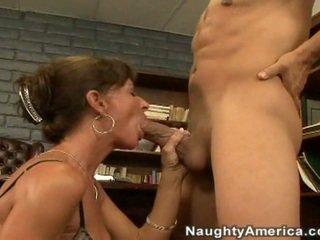 lick, big tits, office