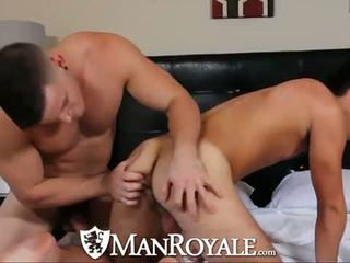 ManRoyale Muscle guy can't wait to get naked