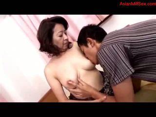 maduro, mães e meninos, asiático
