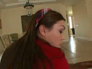 Panjang haired pelajar putri laylah diamond gets kacau & ejakulasi di wajah